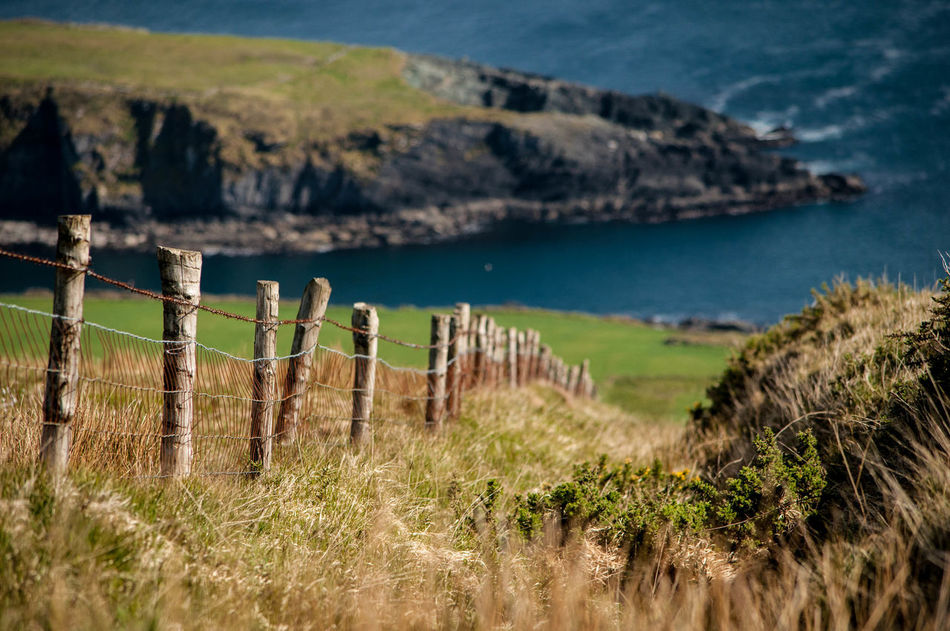 Beautiful stock photos of ireland, Barbed Wire, Beauty In Nature, Cliff, Day