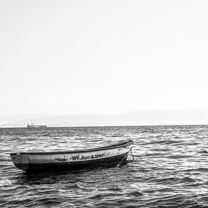 Sea Marmara Sea Turkey Karacaali View Blackandwhite Monochrome Bnw Mood Bw