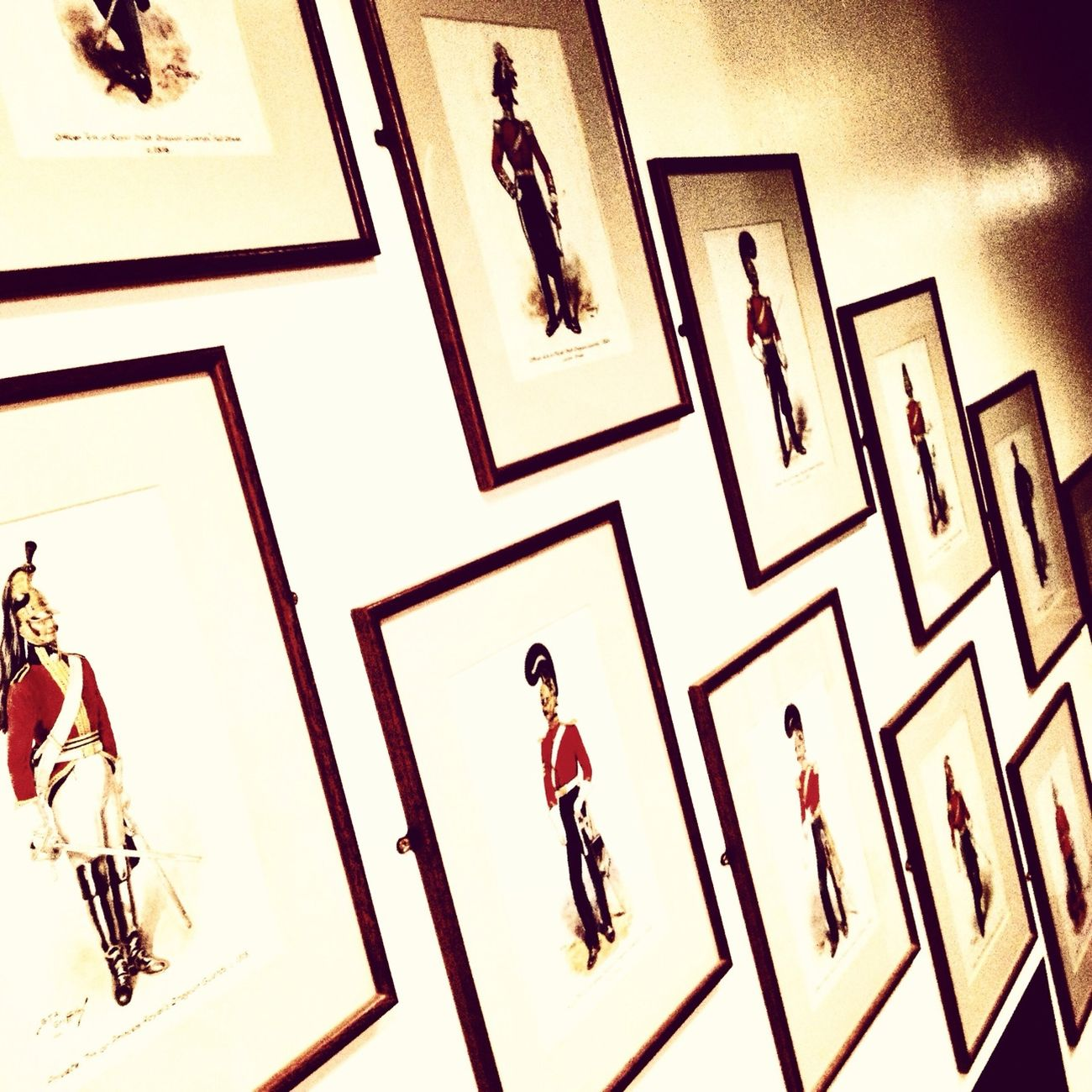 Wall Of Uniform