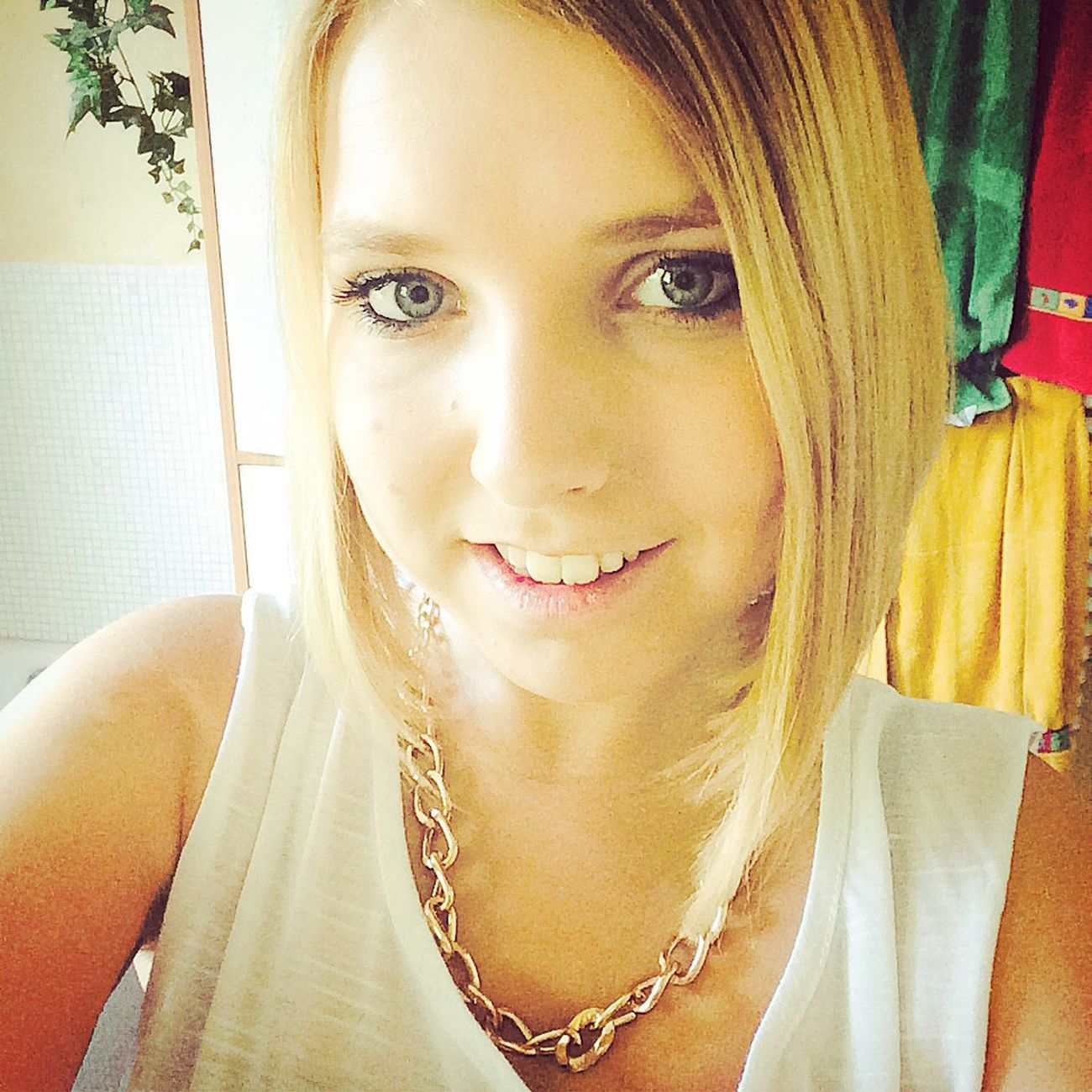 Sexy Girl Smile Lächeln Blond Hair