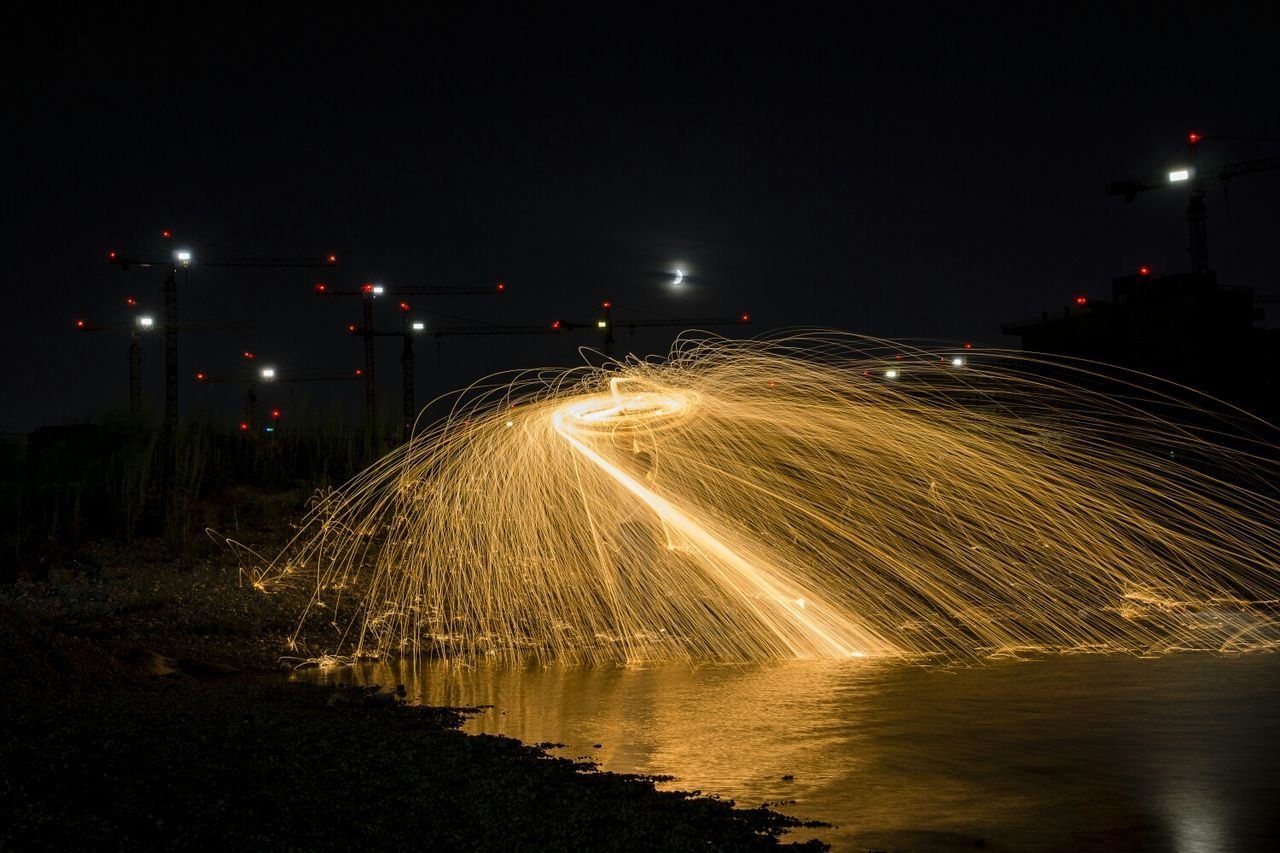i ll send you a light do you not alone.i am with you. The Red Series Steel Wool Light Painting That's Me