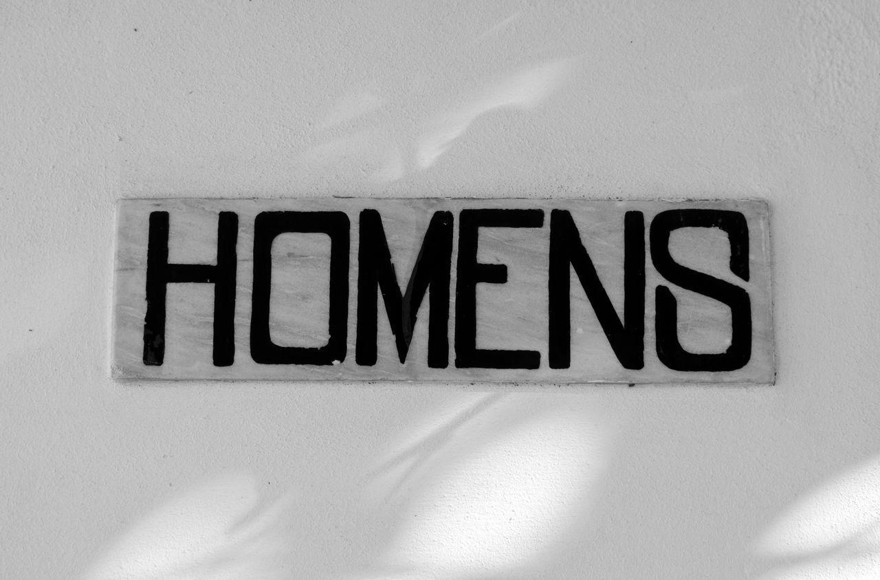 Men. Homens Portuguese Word Text Black & White Black And White Blackandwhite Blackandwhite Photography Bnw Eye4photography  EyeEm EyeEm Best Shots EyeEm Bnw EyeEmBestPics Monochrome Close-up From My Point Of View Minimalobsession Minimalism Minimal EyeEm Gallery Taking Photos Portugal