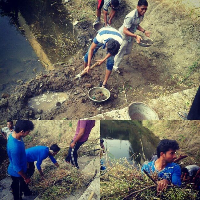 Todaysstory cleaning Old_pond Wekare