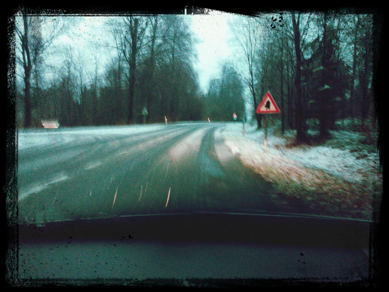 c'était prévu çà ? Il Neige !!! :)