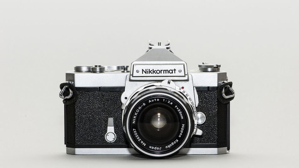 1964 Nikon Nikkormat FTn, shot with a Nikon D2Xs and Nikkor 105mm, f/2.8.