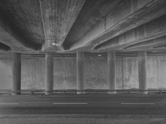 concrete at Hållplats Ejdergatan (S) (B) by cimek