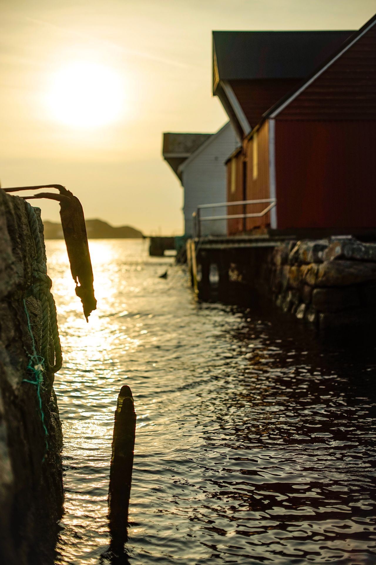 Water Sea Built Structure Sky Architecture Sunset Building Exterior Outdoors Nautical Vessel No People Beach Nature Day Norway Sonyalpha Minolta