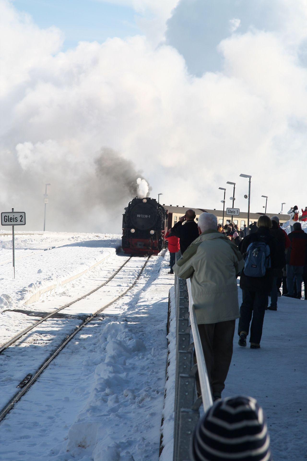 Brockenbahn BrockenBlick Brocken Harz Harz Bilder Sachsen-Anhalt Steam Locomotive Locomotive Train Trainstation Train Station