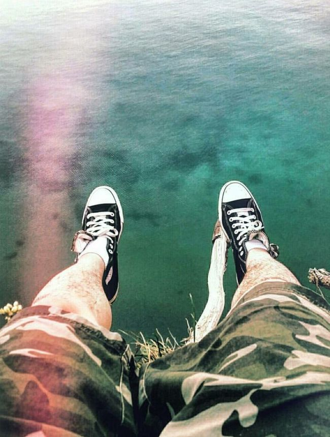 Living life on the edge Chucks All Day Toronto Views Risky Shot Rainymood