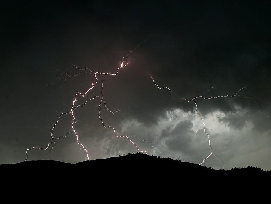 Beautiful stock photos of lightning, Beauty In Nature, Cloud - Sky, Cloudy, Danger