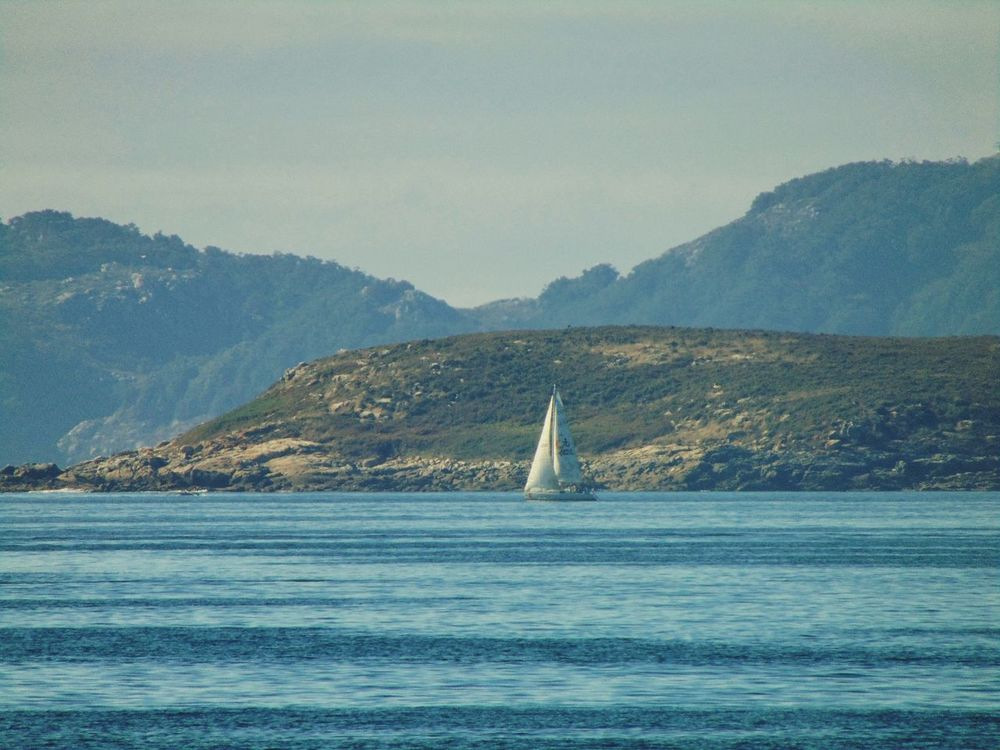 Mountain Sea No People Outdoors Water Day Sailboat Nature Tall Ship Sky Oil Pump