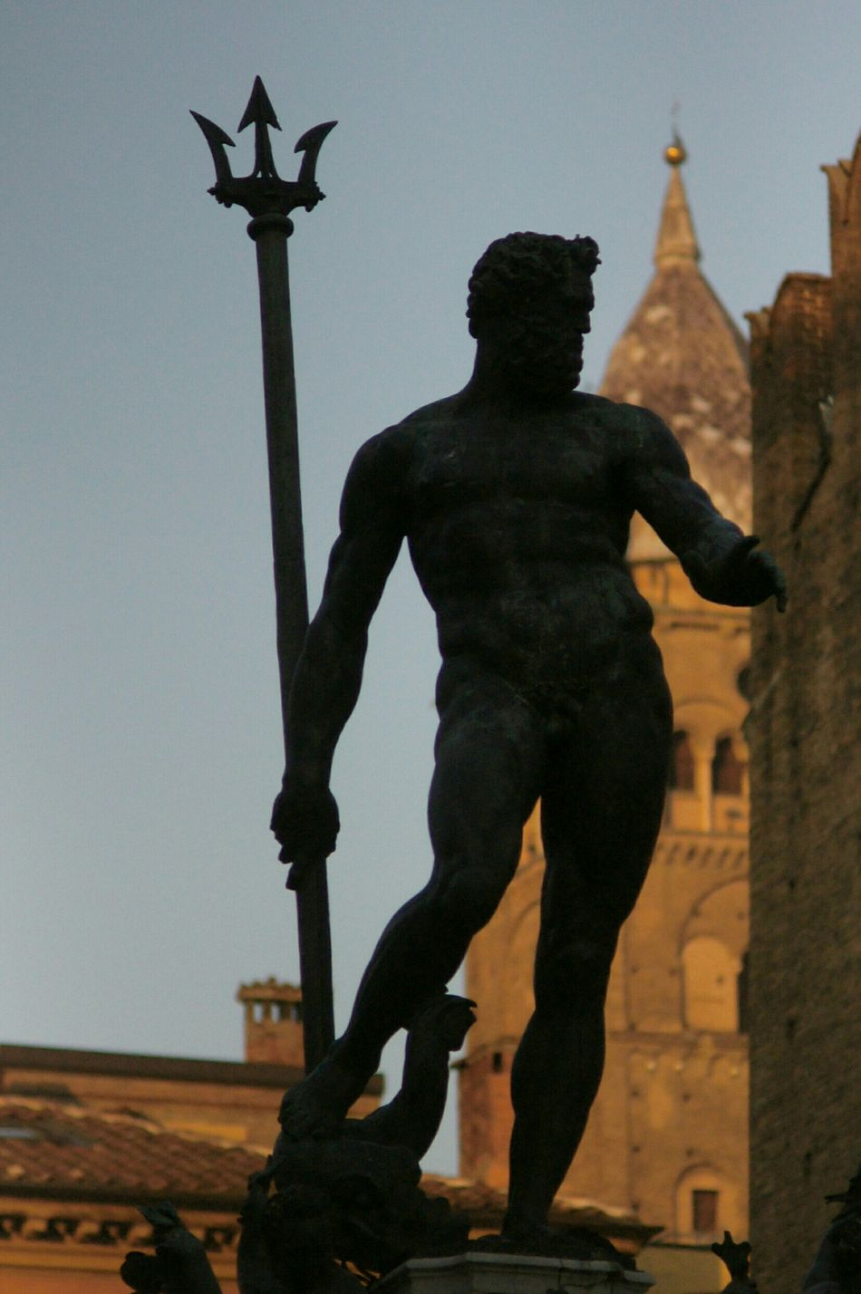 Nettuno Neptune Bologna Italy Italia Depth Of Field Being A Typical Tourist