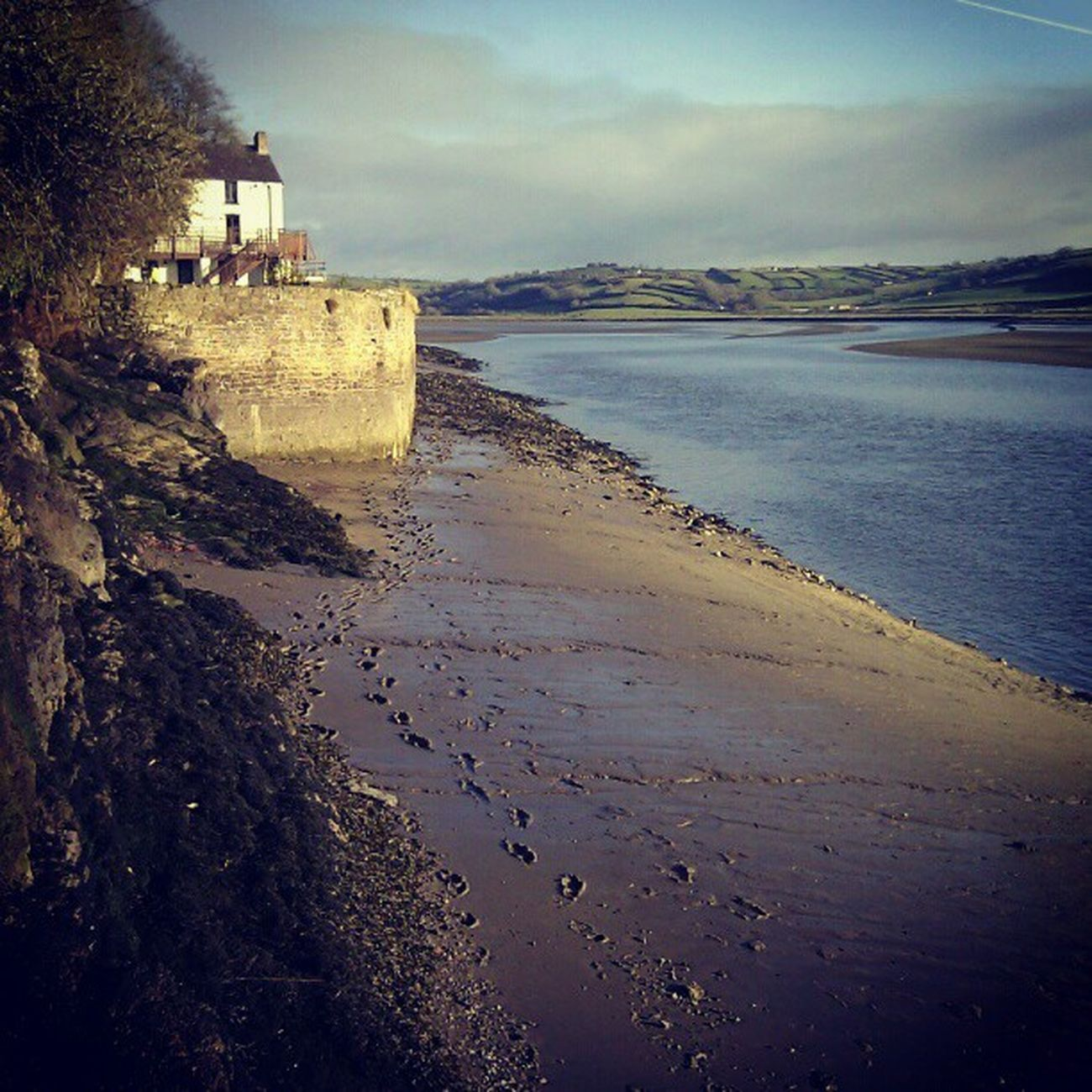 The Boat House. Wales Laugharne DylanThomas Phonography  Pickoftheday Photoftheday Footprints