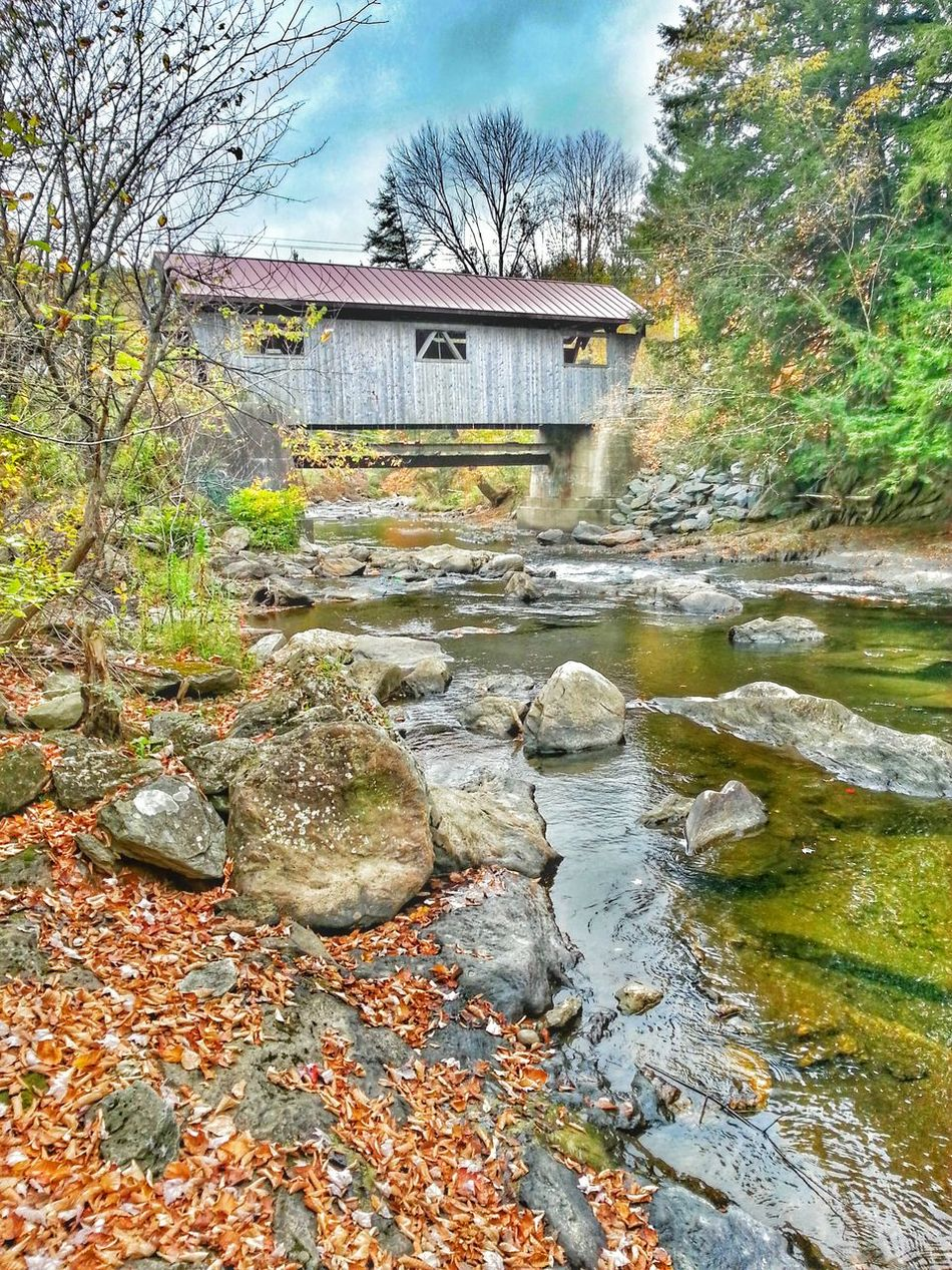 Johnson Vermont_scenery Covered Bridge