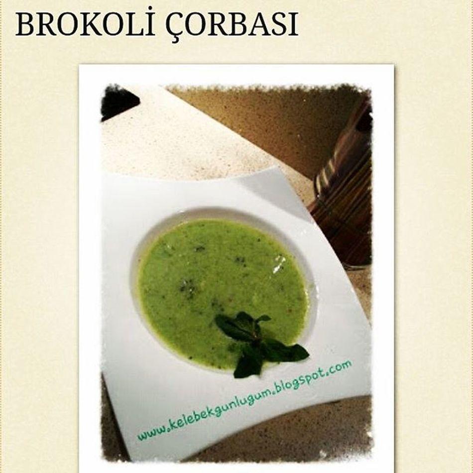 Yap yedir ve iç serisi: Brokoli çorbası tarif için: www.kelebekgunlugum.blogspot.com Food Soup Foodbloger Bloggerdayanismasi Blogdunyasi Ig_mutfak Ig_izmir Brokoli Delicious Sagliklibeslenme Saglikliyasa