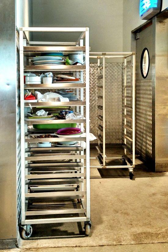 Waste Food Trolley Tray Waste Management