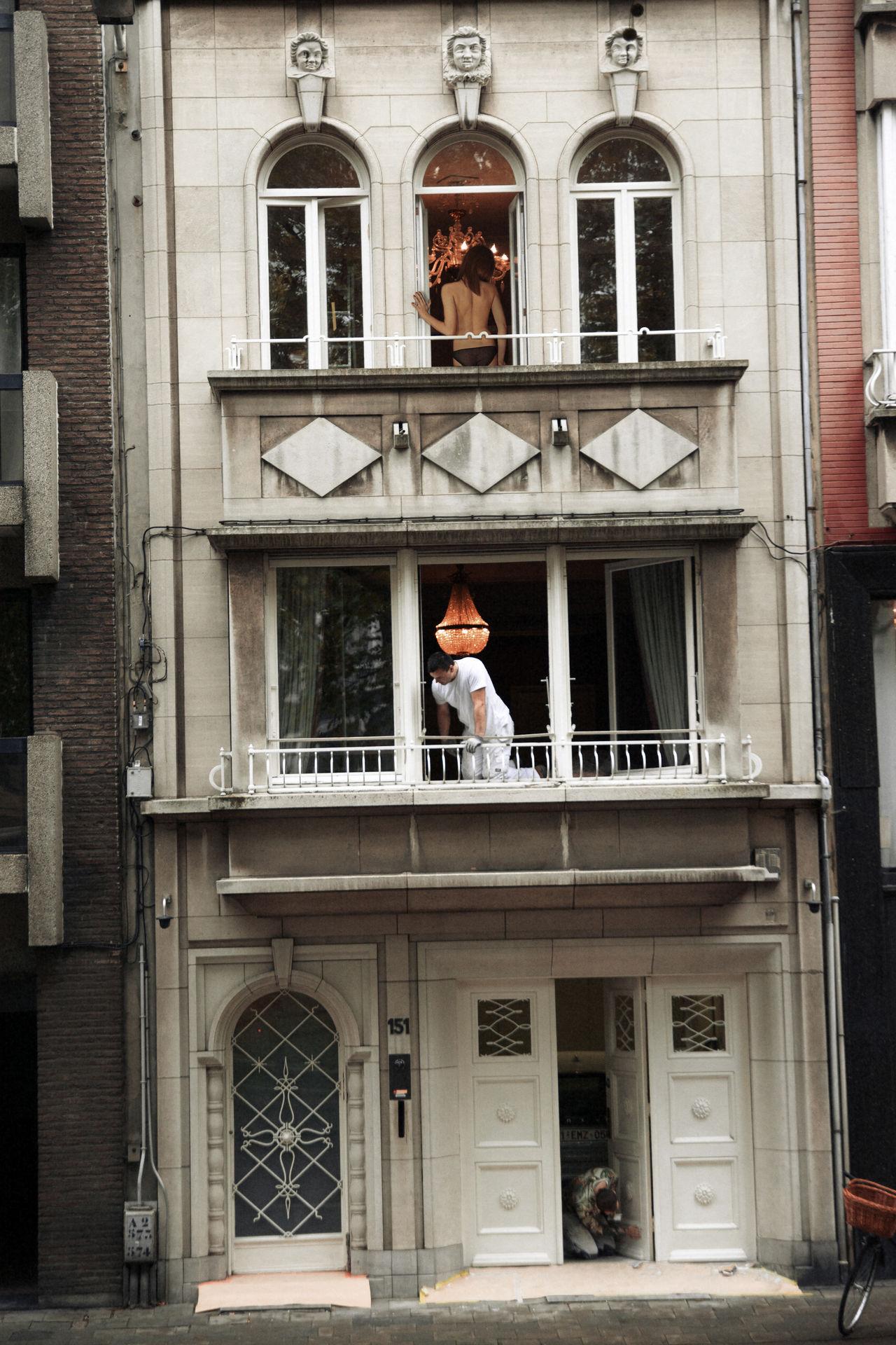 Three Rooms Balcony Beauty Building City Life Female Flat Girl Humans Linas Was Here Movıe Repairman Urban Woman