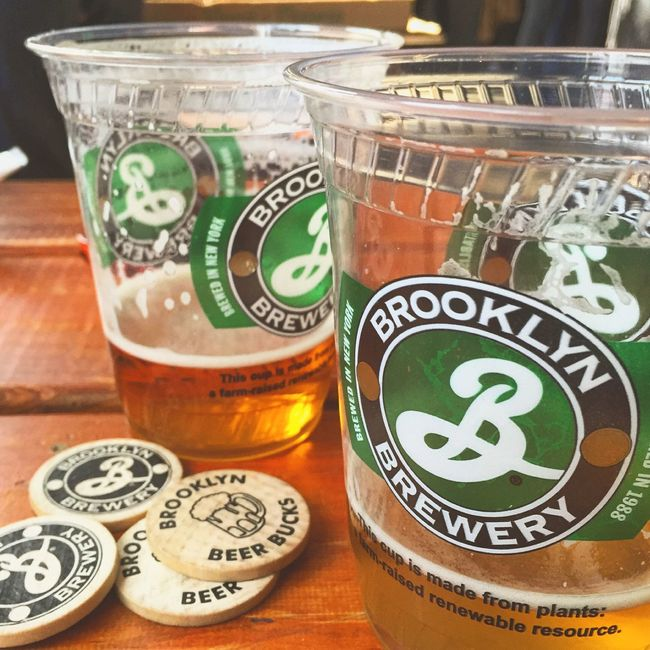 Brooklyn New York New York City I ❤️ NYC Favorite Beer Brewery Brooklyn Brewery Beer Tokens Brew Pub Tastingroom Spring Cold One Craftbeer