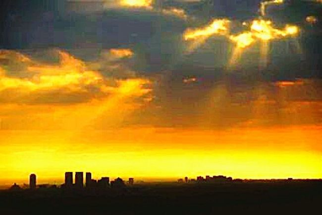 Cityscapes Sunset Chill Beautiful Above The City
