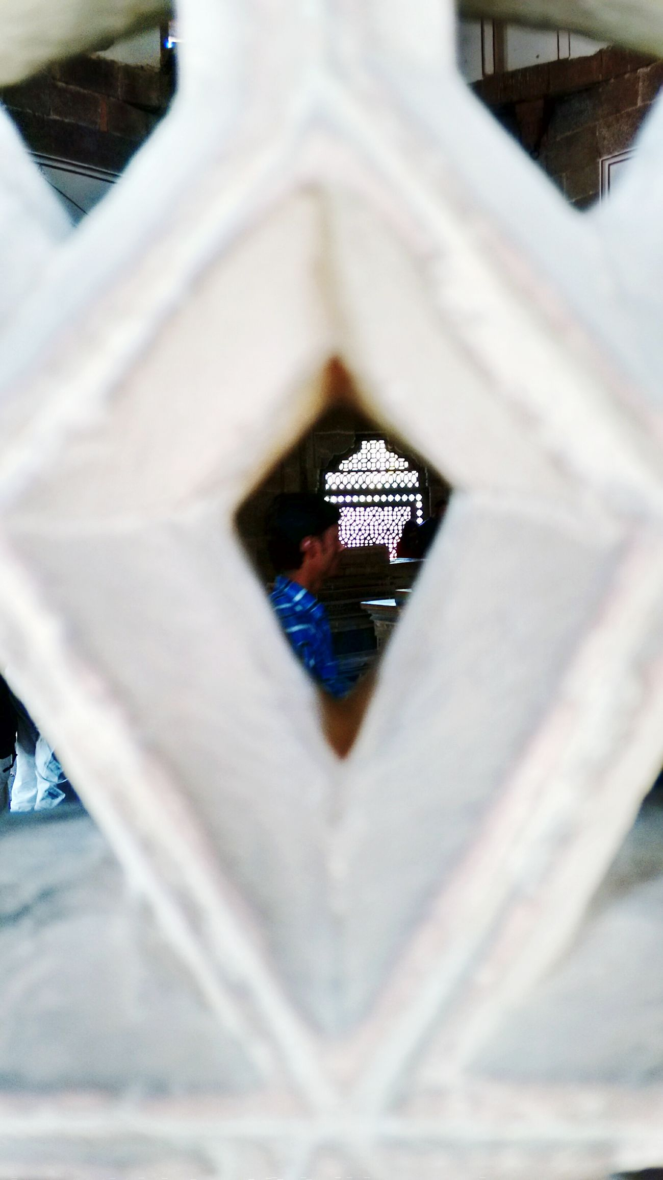 My Best Photo 2015 Humayun's Tomb A Peek On The Other Side Of The World
