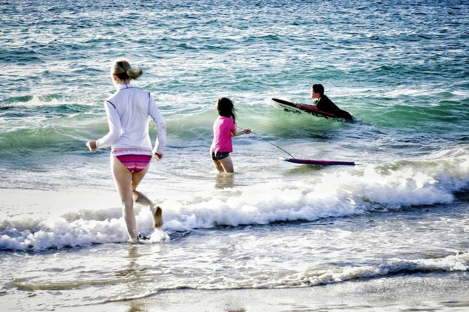 Back after a break. A simple photo but to me it captures the feeling of summer. Summer is here and i am loving it.Summer Beach Cottesloe Beach Cottesloebeach Western Australia Day Outdoors Summertime Summer Fun Family Fun Swiming Family Leisure Activity People