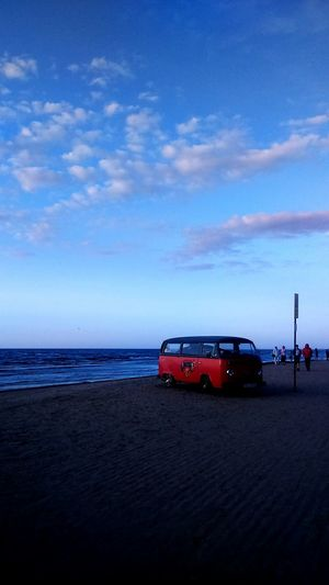Hippy Hippyvan Colours Sky Beach Sunset Music Jurmala Latvia