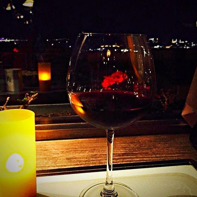 Wine Redwine Night Nightphotography Night Lights Dinner Candle Taking Photos