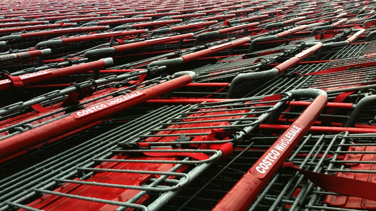 Pattern Abstarct Costco Trolley