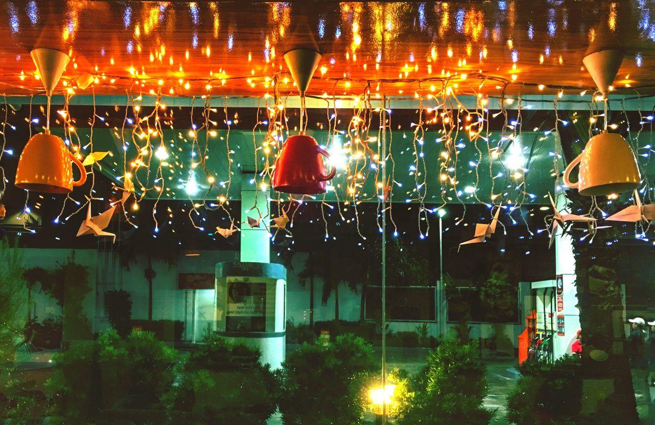 Always Be Cozy POTD EyeEm Best Shots EyeEm Gallery Eyeem Philippines Illuminated Hanging Christmas Cups And Mugs Coffemug