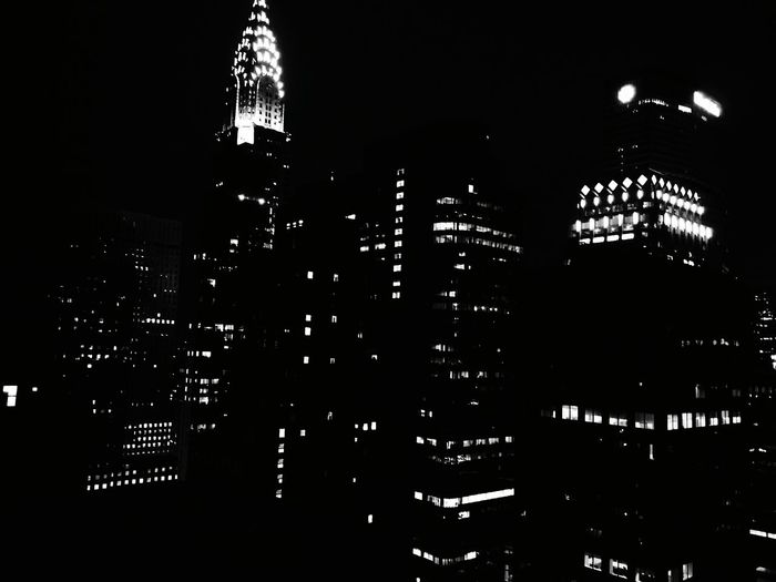 New York City. Night No People Architecture Travel Destinations History Outdoors Sky Tower New York City Night View