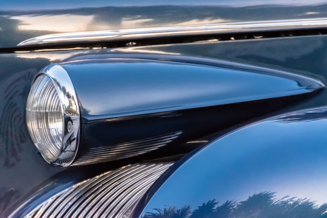 Car Classic Car Collector´s Car Colour Image Day Detail Headlight Horizontal Land Vehicle Mode Of Transport No People Old Car Old Fashioned Outdoors Part Of Reflections Retro Styled Shapes Shiny Side View Transportation Travel Vehicle Hood Vintage Vintage Cars