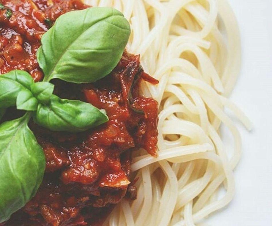 Dinner Pasta Italian Food Spaghetti Bolognese Food Foodporn Food Porn Foodphotography