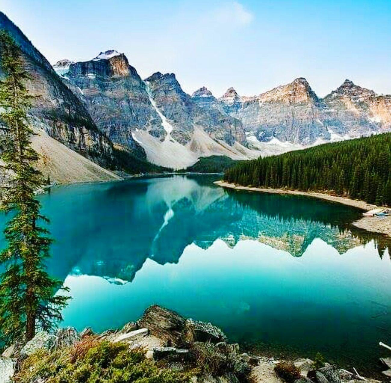 Hermoso paisaje