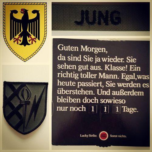 Lang ist's her - und aktueller denn je... Heeresführungskommando Bundeswehr WirspionierengewissenhaftgewisseLändermitgewissenMittelnaus Army Nato tbt throwbackthursday