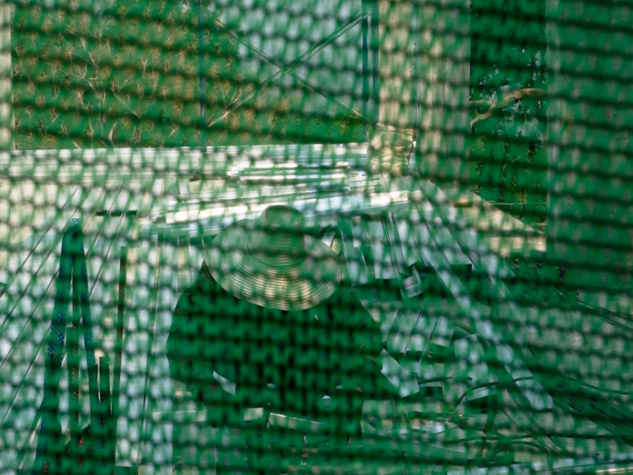 Backgrounds Cage Close-up Day Full Frame Netting No People Pattern Refraction