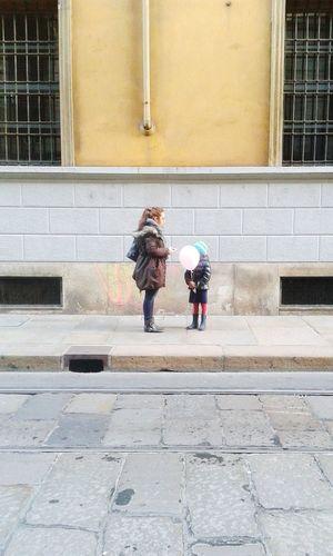 People Persone Palloncino Baloon Bambino Bambina Rosa Pink Kid Streetphotography Street Streets Strada Strade