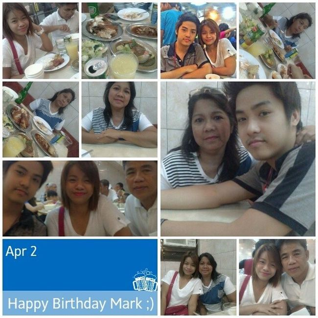 Day 010: Its happy happy birthday to my one and only handsome brother so busog this dinner :D i am so proud of you! Please be safe in path that you will take! Our family are always here for you! I will miss you 100happydays Day010 Happybirthdaybrother 100happydayschallange maligayangkaarawan kapatid
