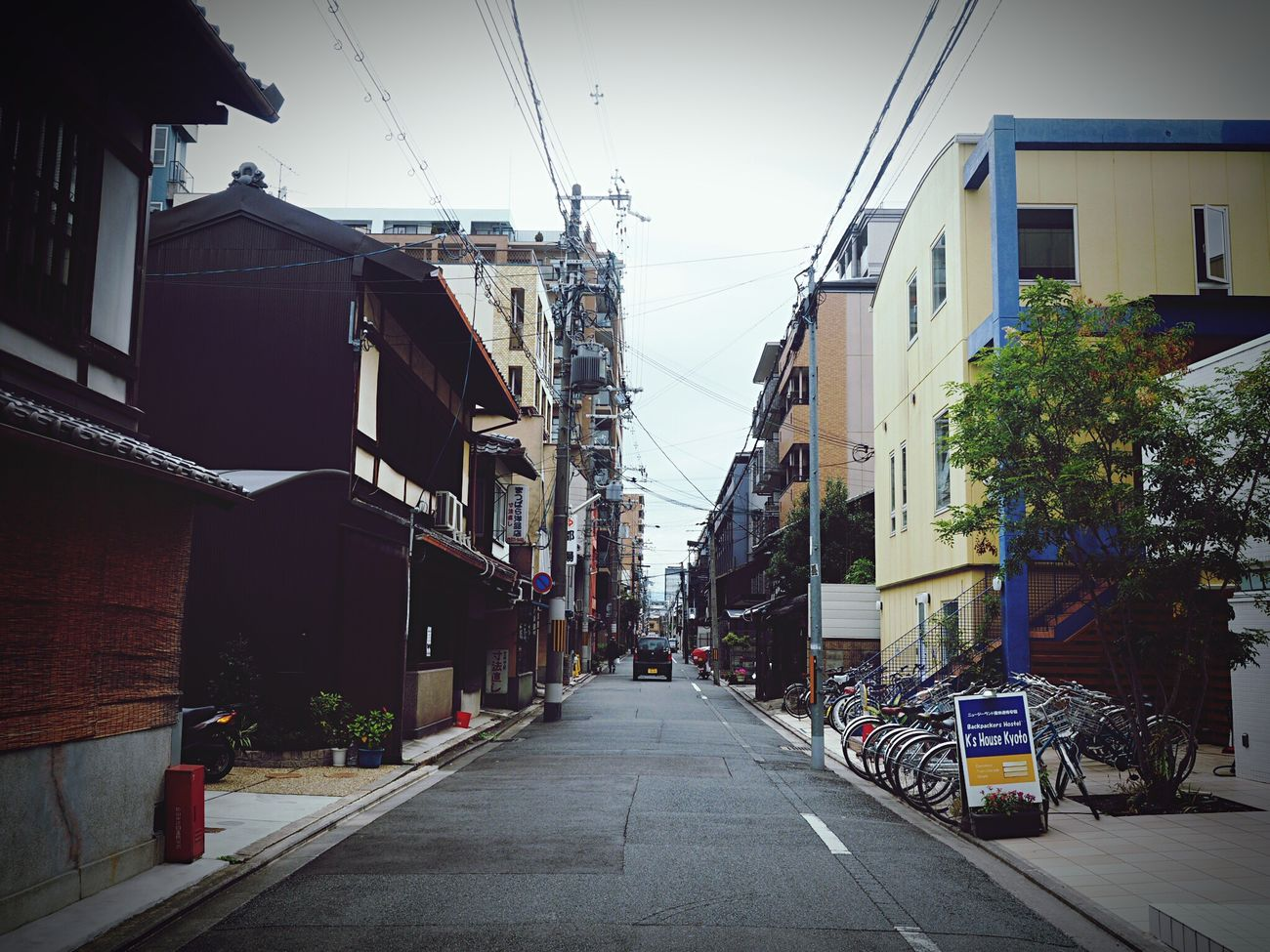 Building Exterior Built Structure Architecture City Street Outdoors The Way Forward City Street Sky Road Day Electricity Pylon No People EyeEm Japan The Week Of Eyeem EyeEm Taiwan EyeEm Best Shots 京都 Kyouto