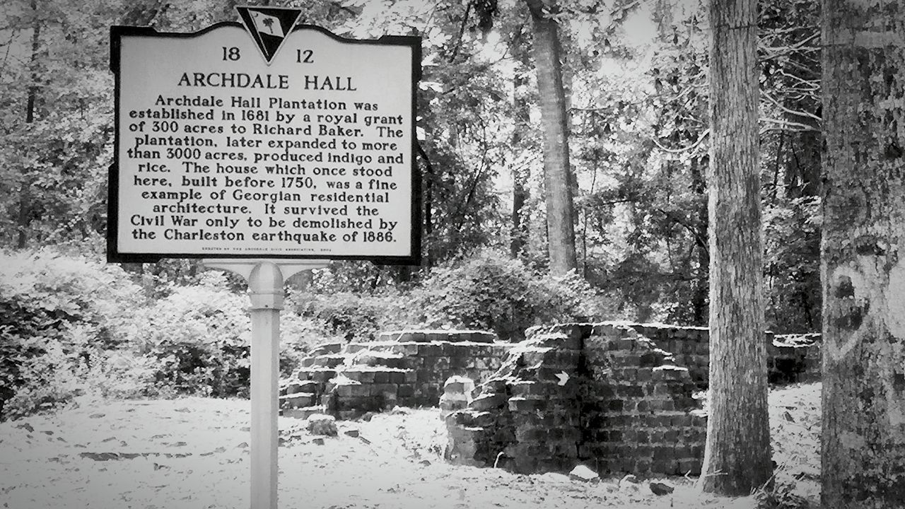 Black And White History Historic Site