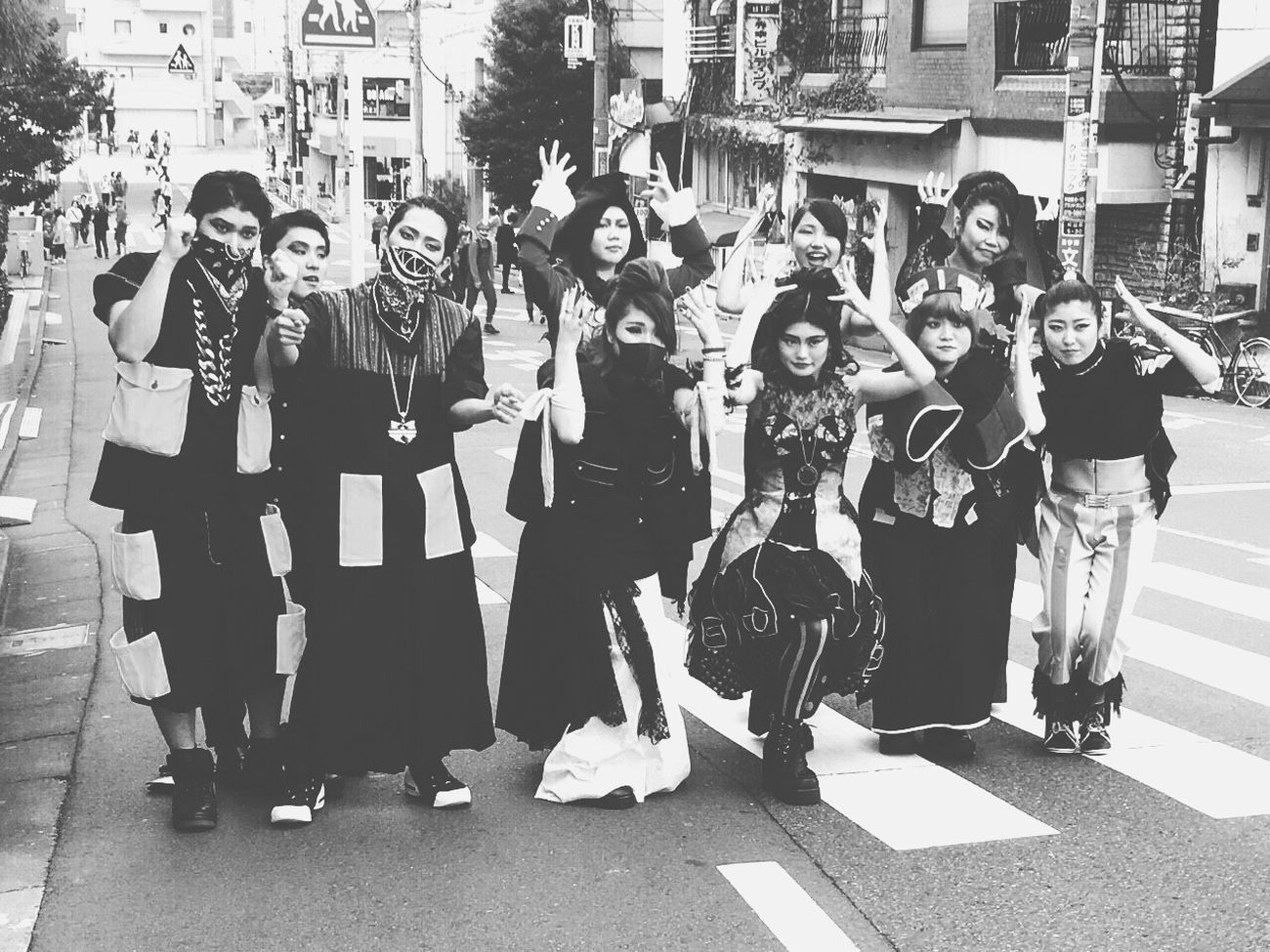 Japan CTC Ciyotanaka Fasionschool Fasionshow Enjoying Life Happy Friend Happyhalloween