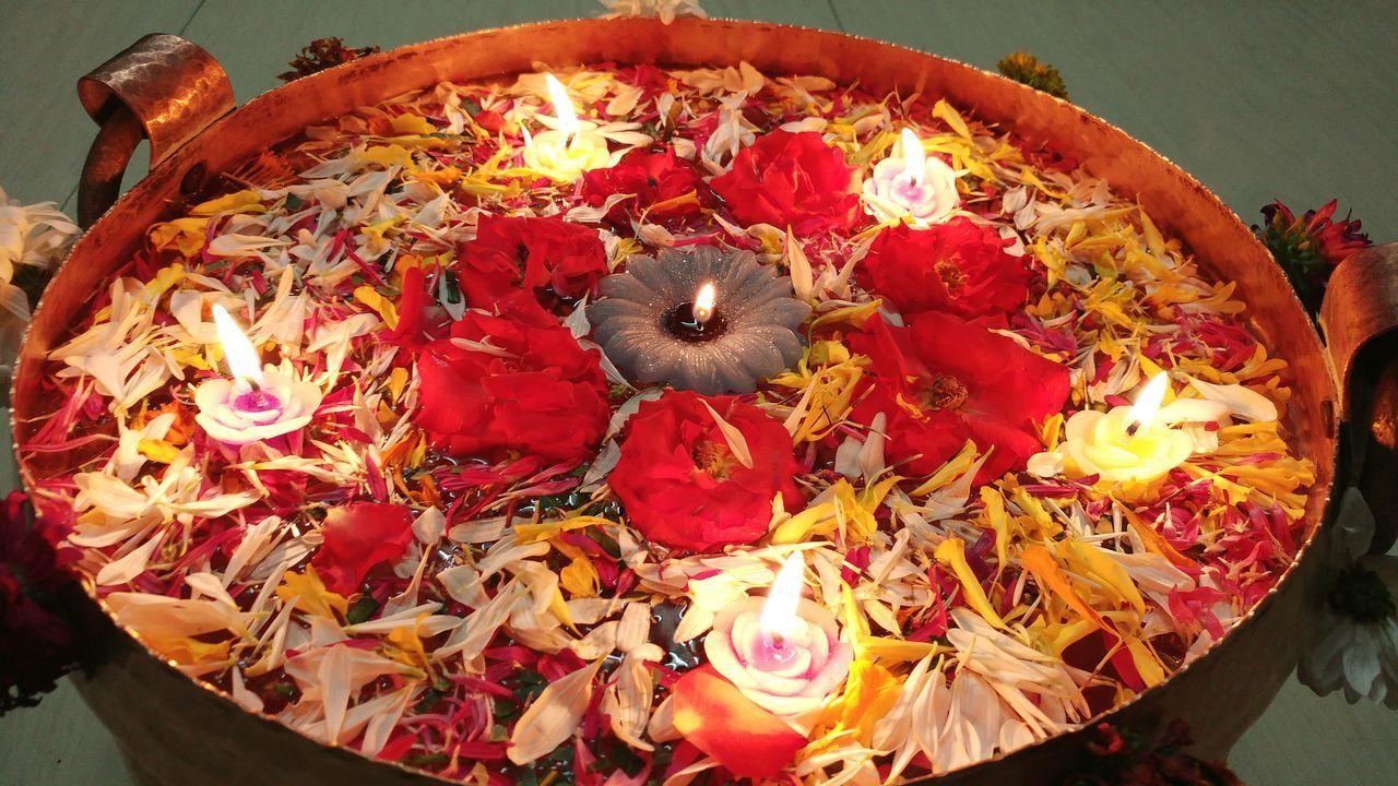 Flame Diya - Oil Lamp Diwali Cultures Indoors  Celebration Indian Culture