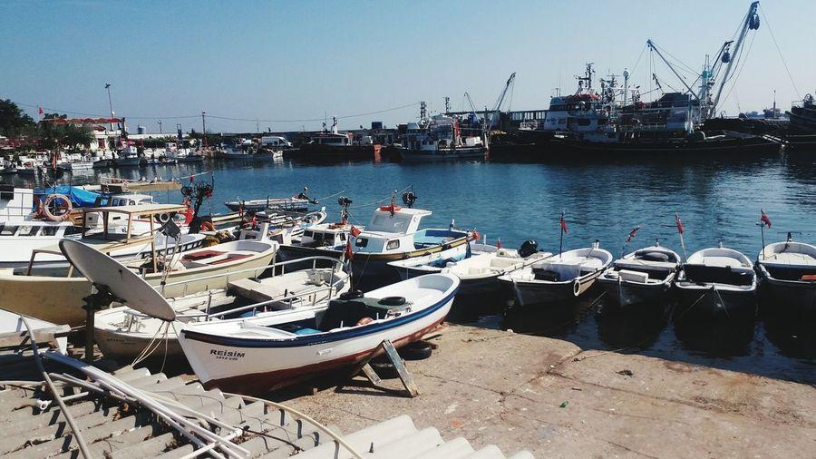 Beach Water Boat Serenity Blue Sea ⛵🌊