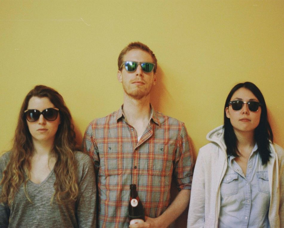 Being cool. Portrait Sunglasses