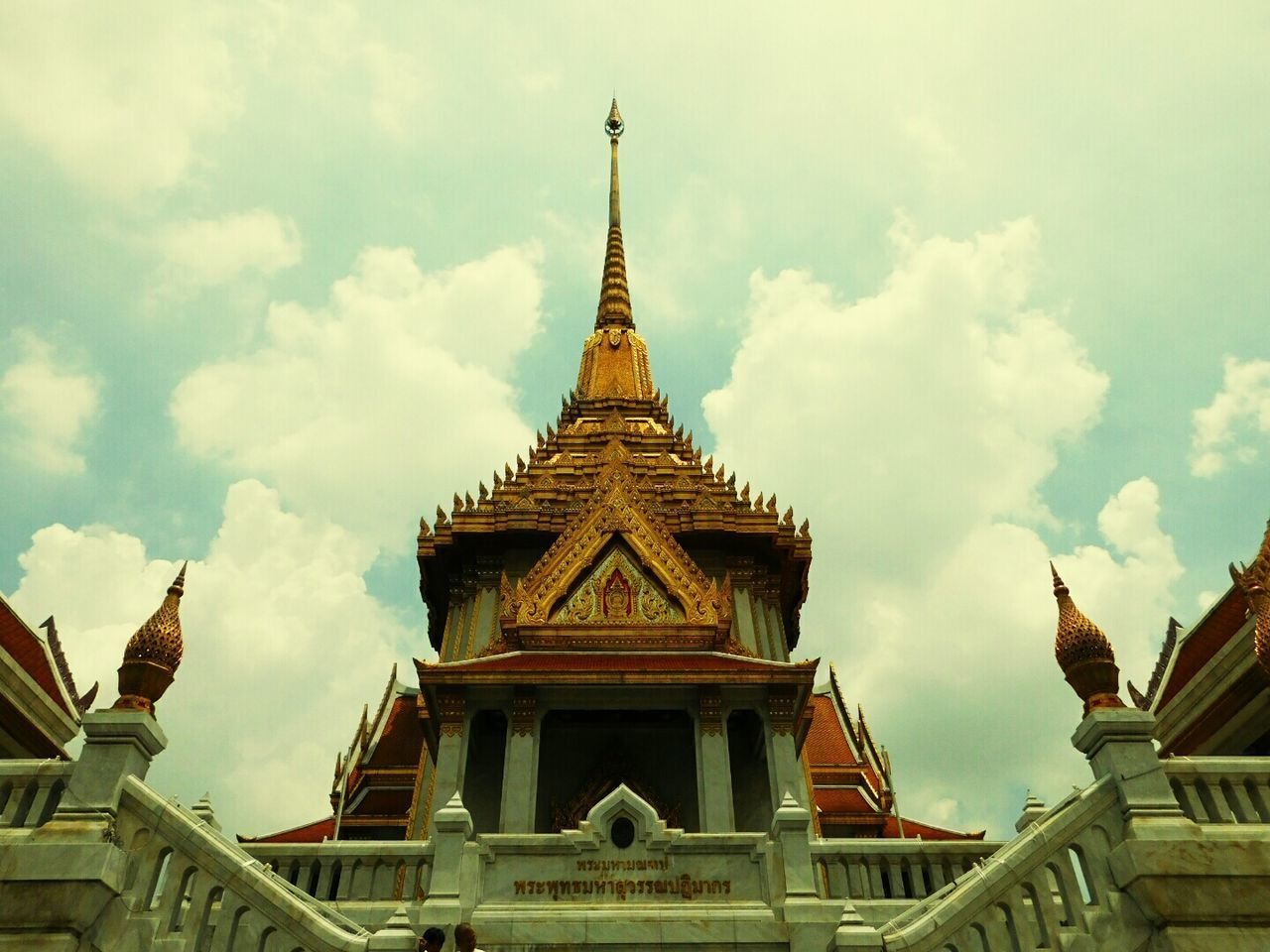 Religion Architecture Tourism Ancient Travel Gold Colored Statue Arts Culture And Entertainment History Travel Destinations Pagoda Gold Arrival Beauty Landscape Sky No People Nature King - Royal Person Outdoors