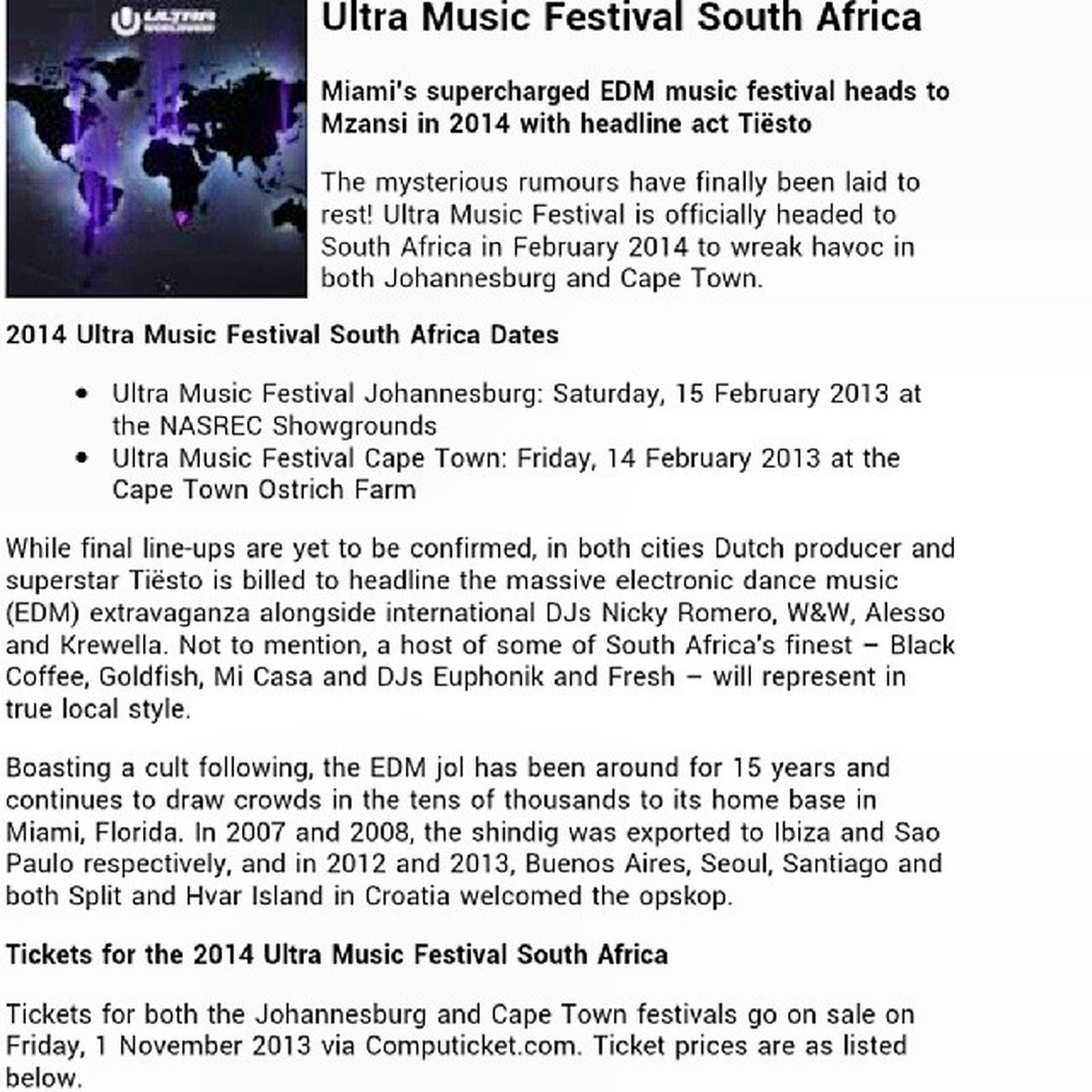 Ultrasa Ultramusicfestival Ultra Ultraworldwide ultranauts