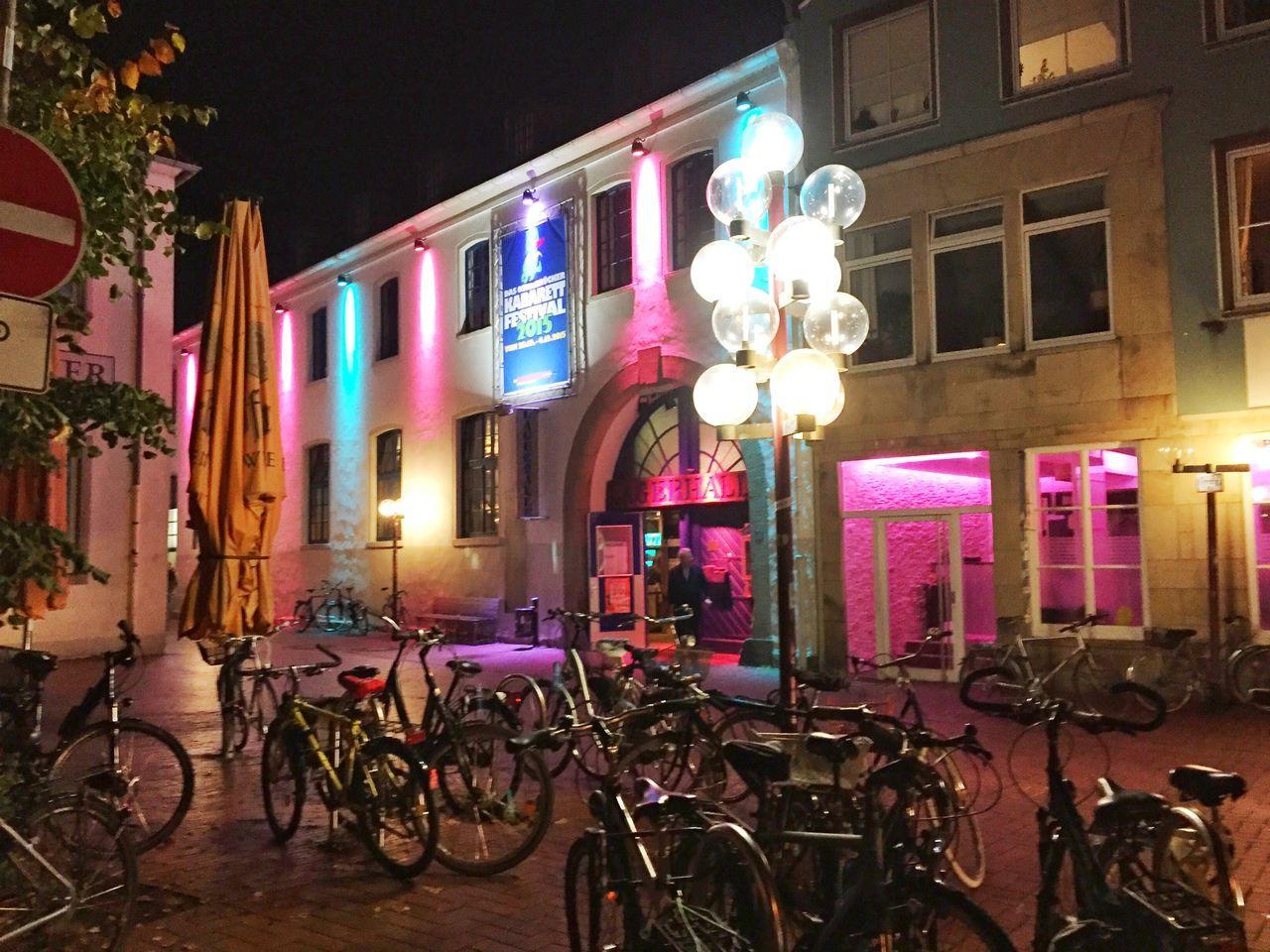 Osnabrück Kabarett Festival 2015 Kabarett Altstadt Osnabrück Osnabrück Nightphotography Nightlights