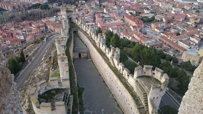 Una Vista de Peñafiel des dentro del Castillo De Peñafiel