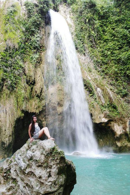 Inambakan Falls Of Ginatilan Ilovewaterfalls Relaxing Check This Out Taking Photos Topofstone Enjoying Life Summer ☀