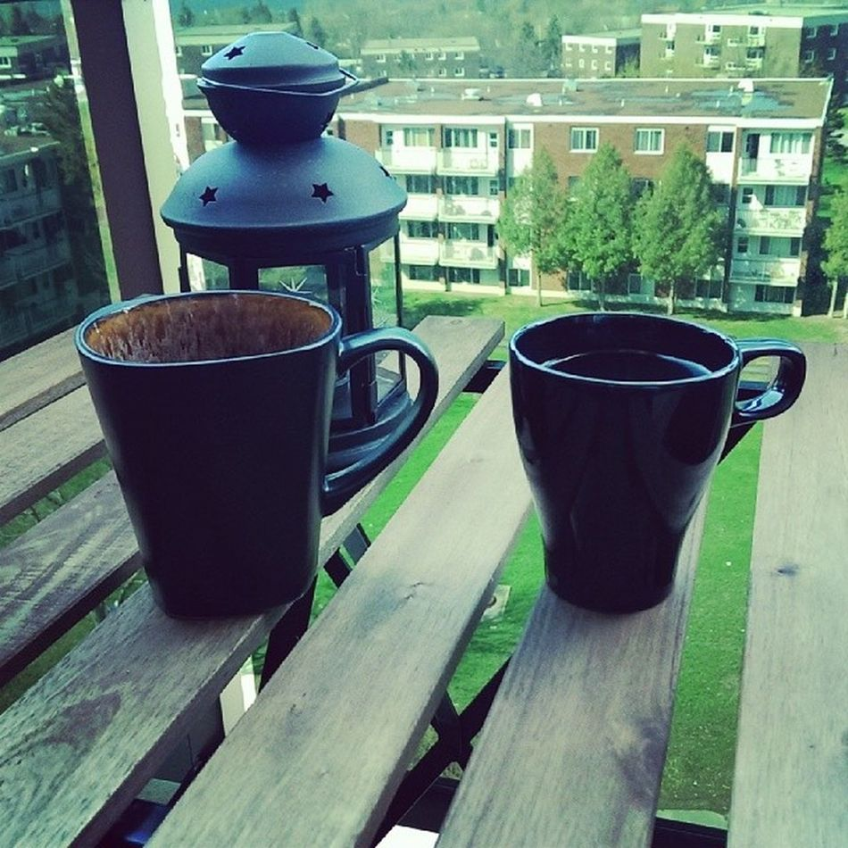 Coffee and boyfriend and gorgeous day. 18degrees Patioseason MinesBigger