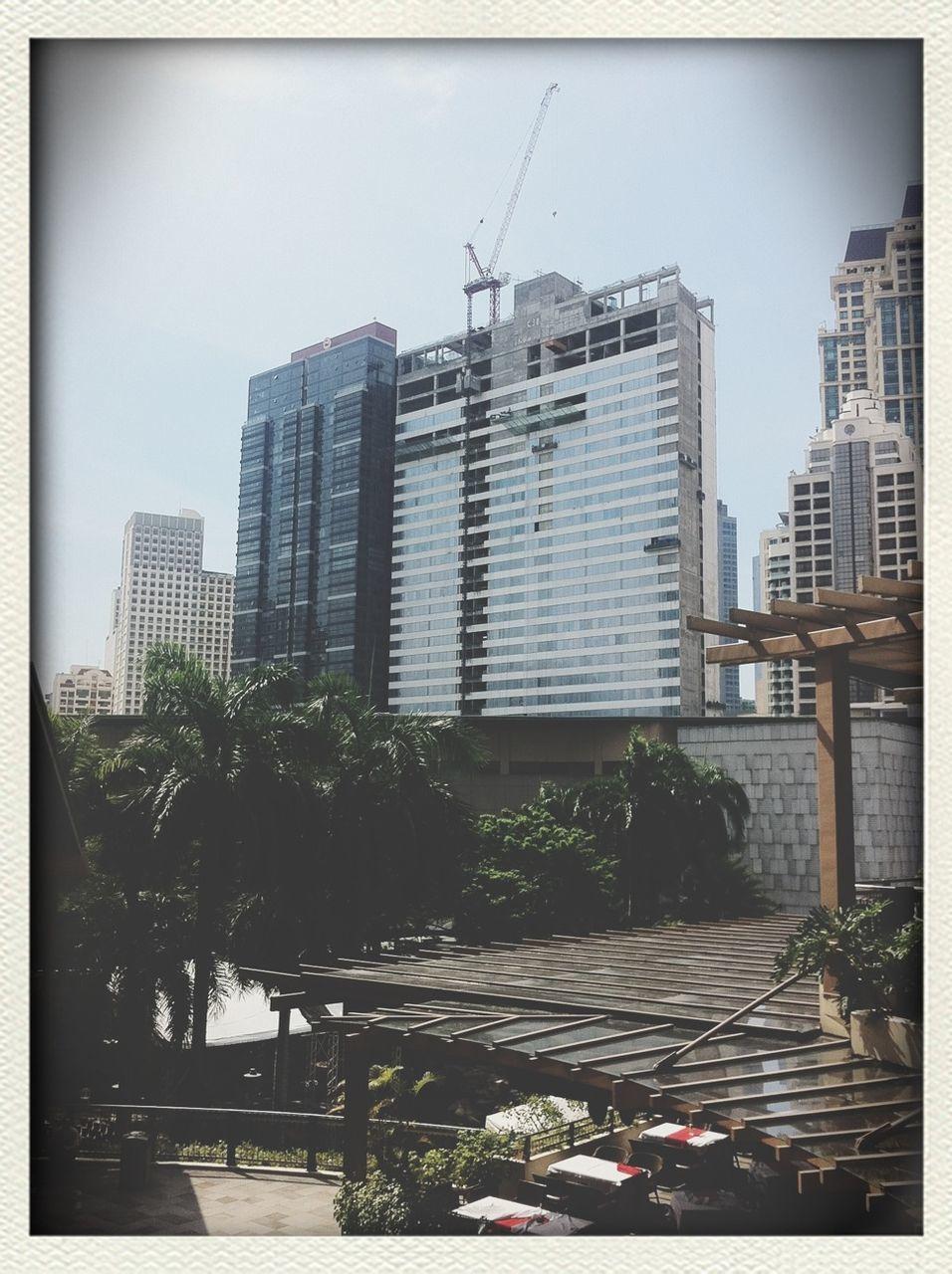 Office Block Construction Site